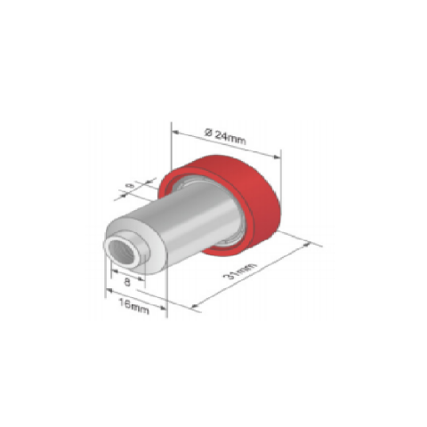 ROLLERS FOR SLIDING ROOFS D 24