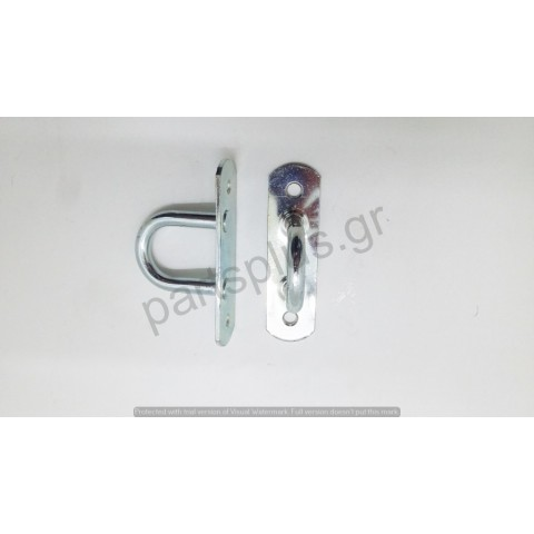 Lashing ring - zinc plated