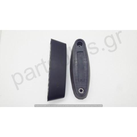 Rubber bumper oval